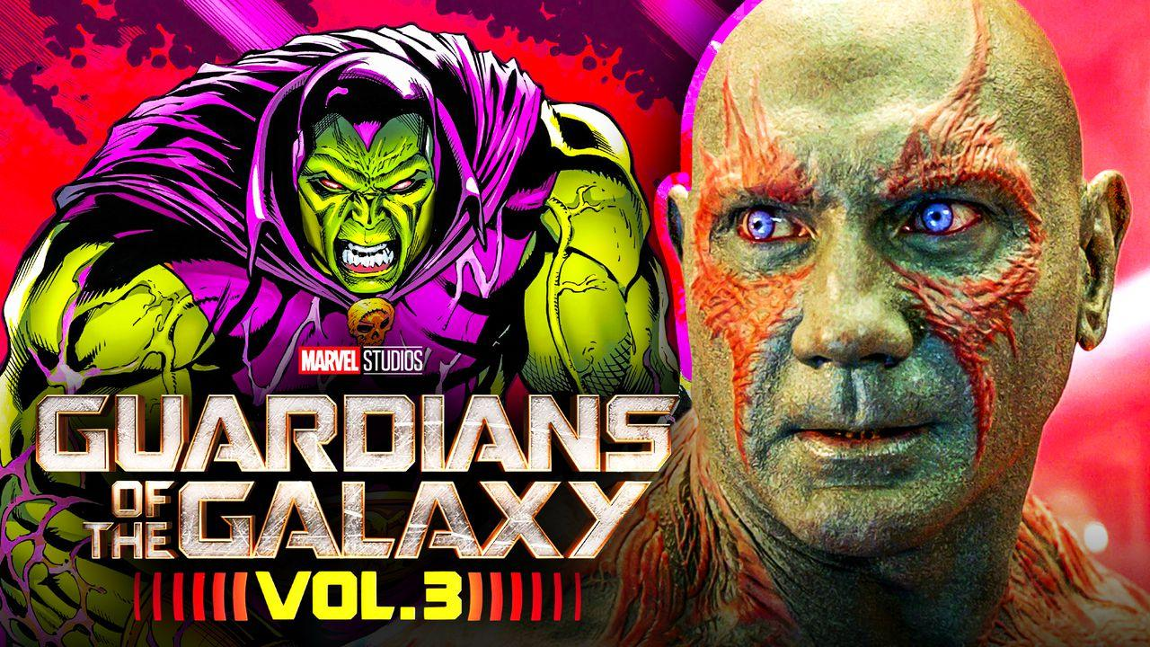 Drax Guardians of the Galaxy 3 Dave Bautista