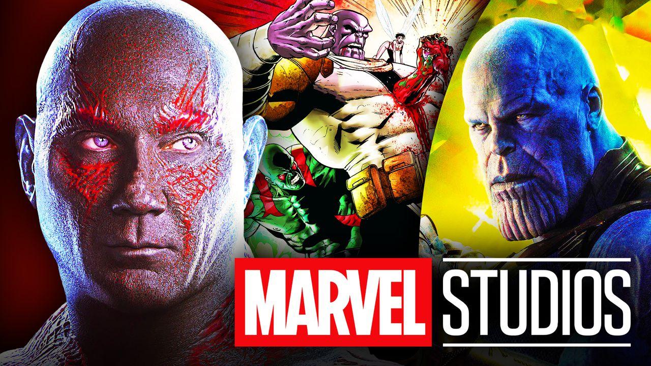 Drax, Thanos, MCU