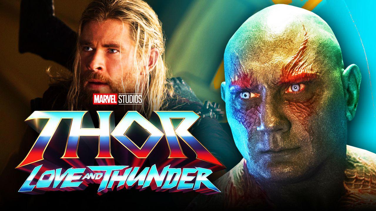 Thor Love and Thunder Drax logo