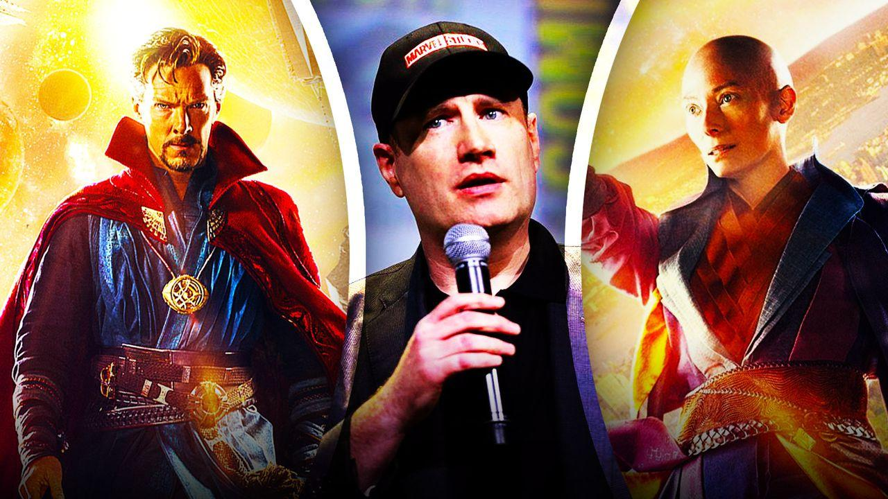 Doctor Strange, Kevin Feige, Tilda Swinton as the Ancient One