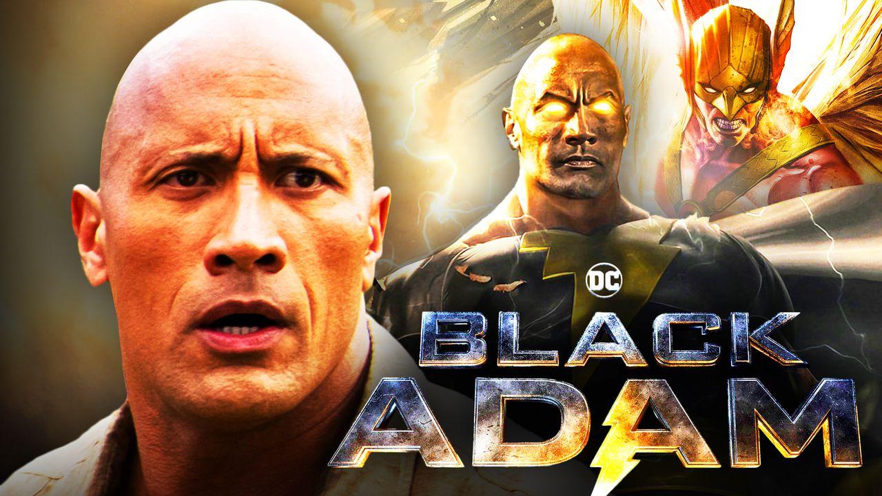 Black Adam, Dwayne Johnson, Hawkman