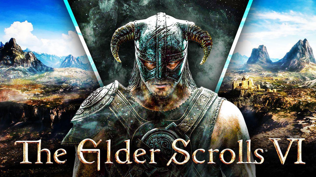 Elder Scrolls 6 Logo Background