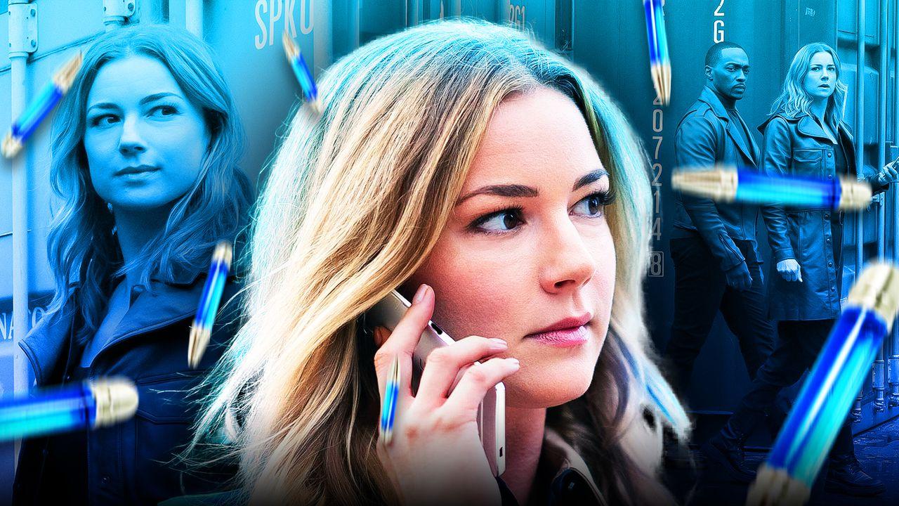 Emily VanCamp as Sharon Carter Power Broker