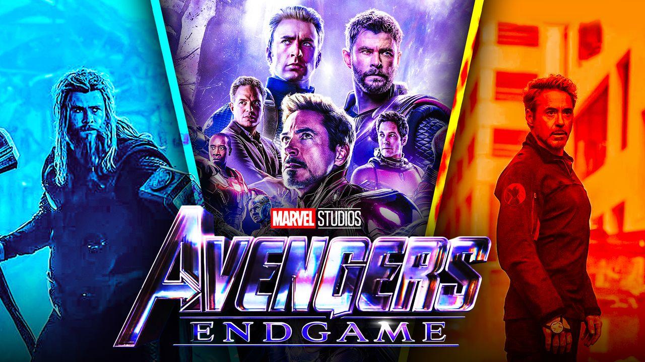 Avengers Endgame Thor Tony Stark