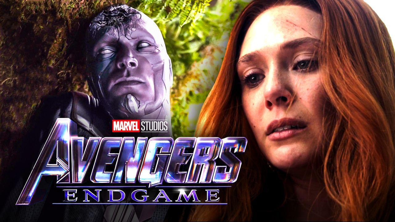 Vision, Wanda, Avengers: Endgame