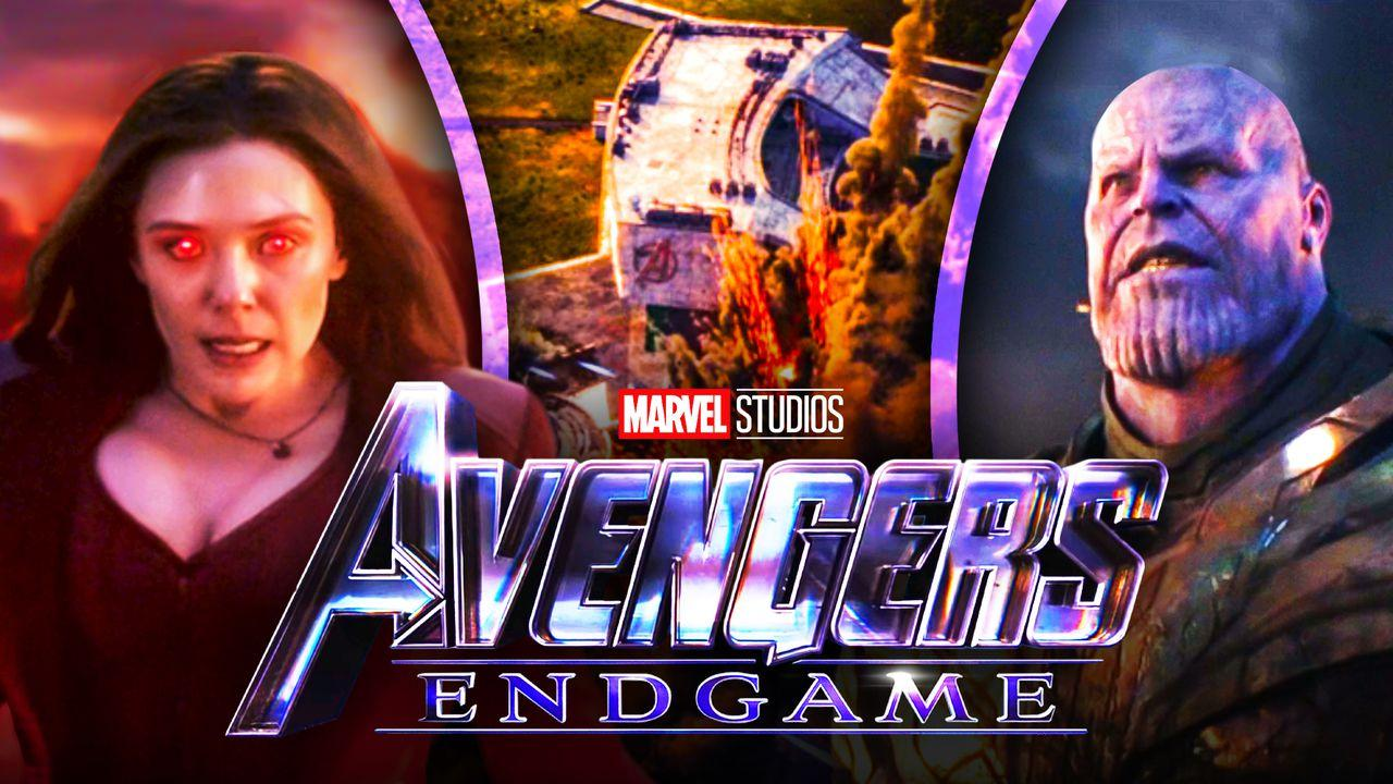 Scarlet Witch Thanos Avengers Endgame Headquarters