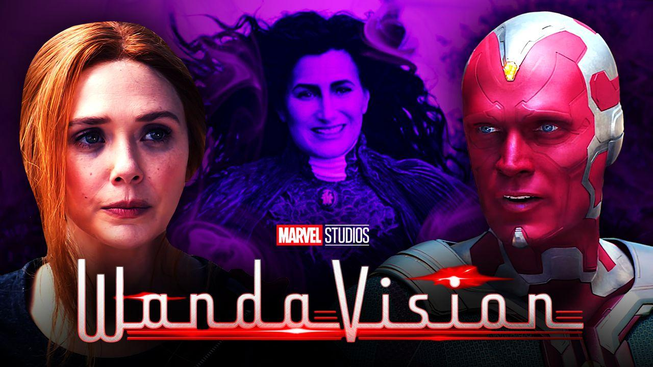 Scarlet Witch Agatha Vision