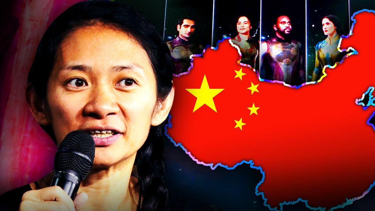 Chloe Zhao, Eternals poster