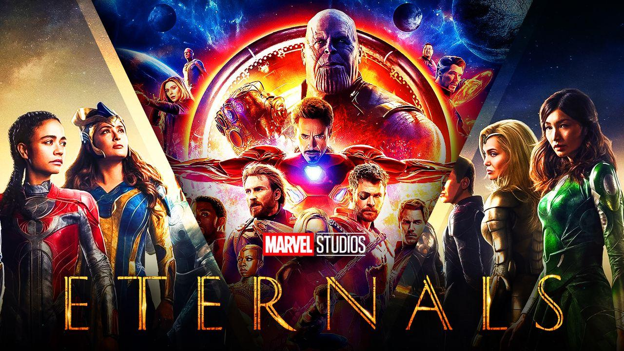 Marvel, MCU, Eternals, Thanos, Avengers