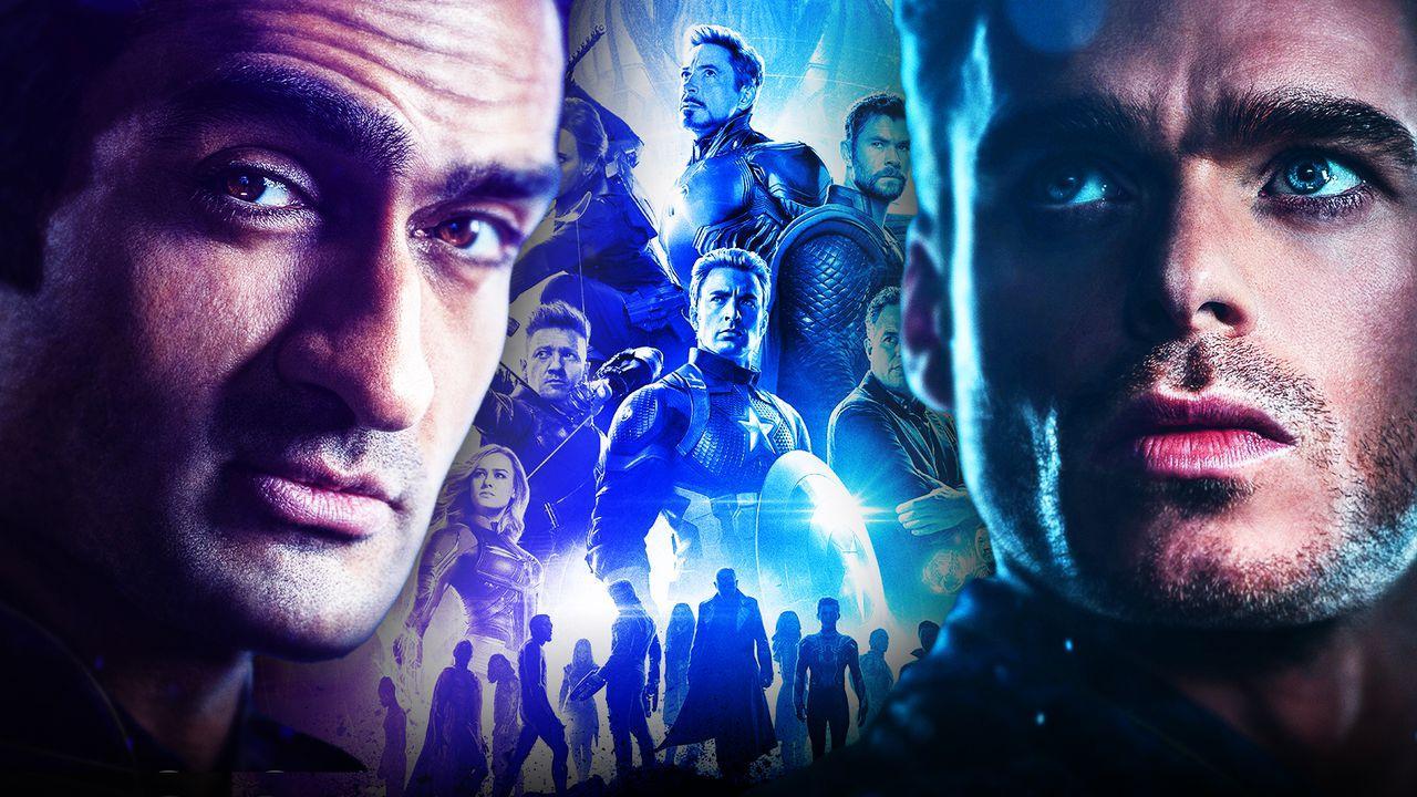 Kumail Nanjani as Kingo, Avengers, Richard Madden as Ikaris