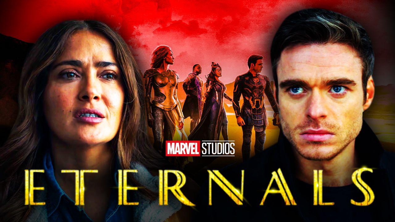 Eternals Salma Hayek Richard Madden Movie
