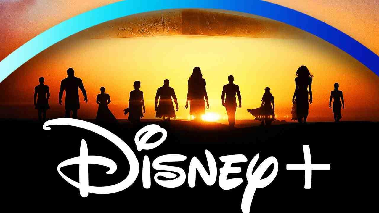 Marvel Eternals Disney Plus logo