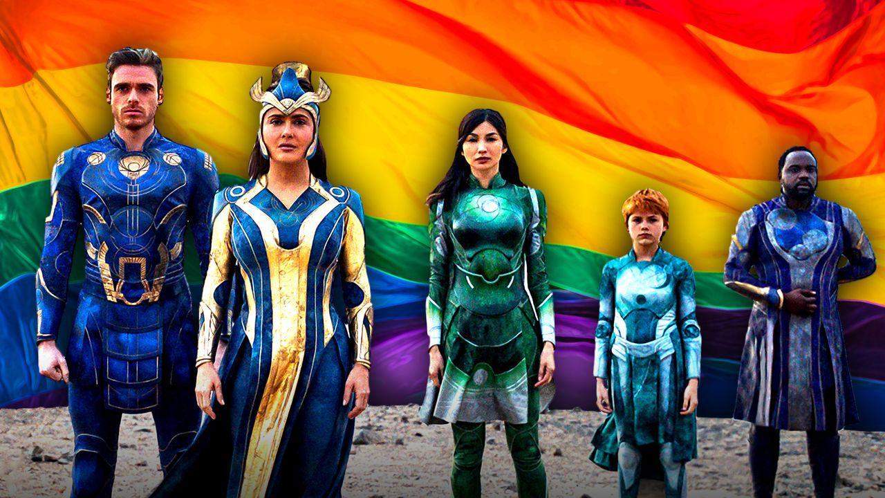 Eternals, LGBTQ Flag, Gay