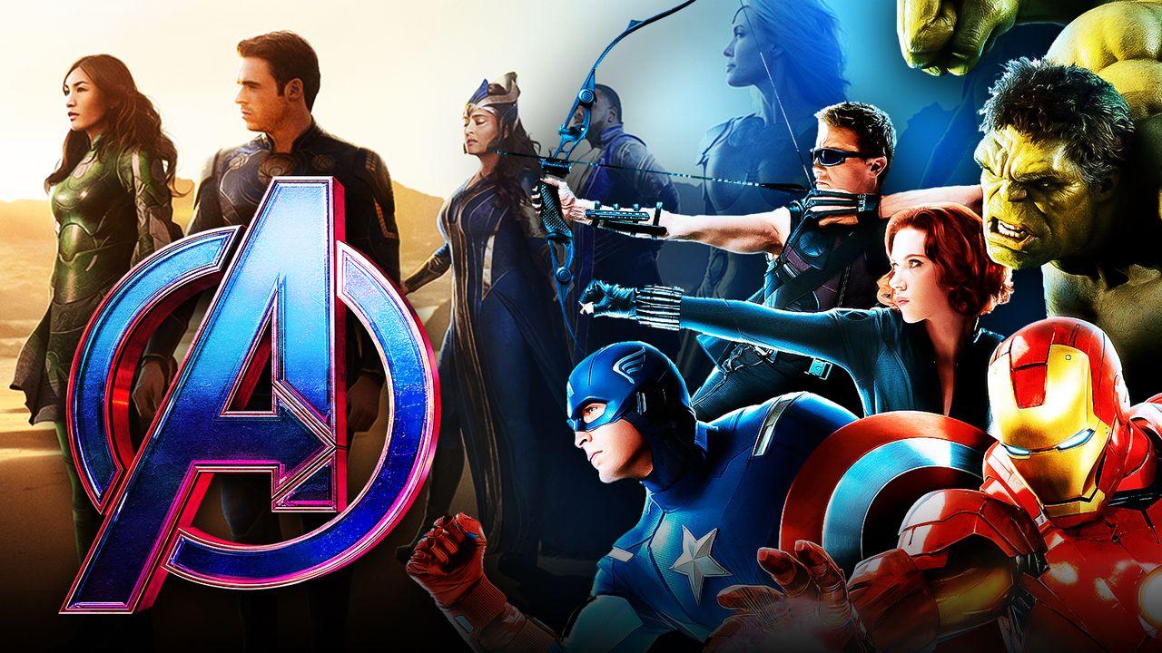 Avengers logo, Avengers, Eternals