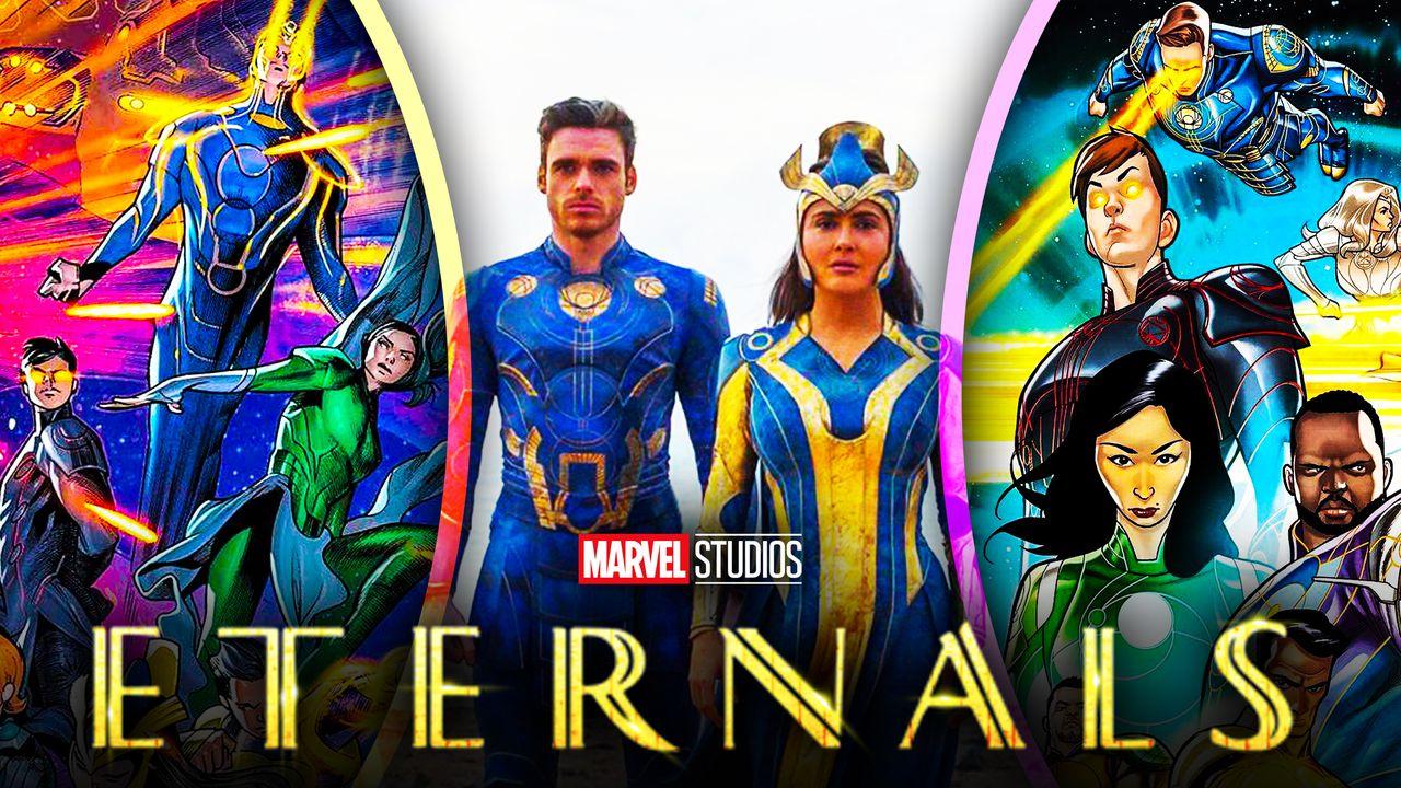 Eternals Marvel Studios Characters