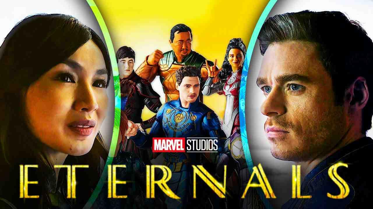 Eternals Gemma Chan Richard Madden Movie Cast