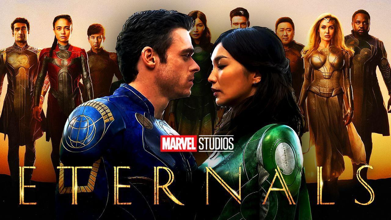 Marvel Eternals movie characters