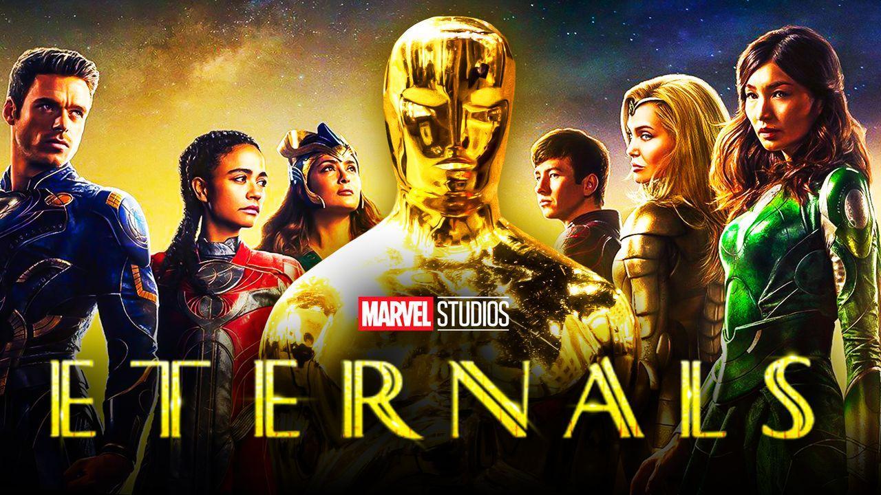 Eternals Movie Oscars, Academy Awards Trophy