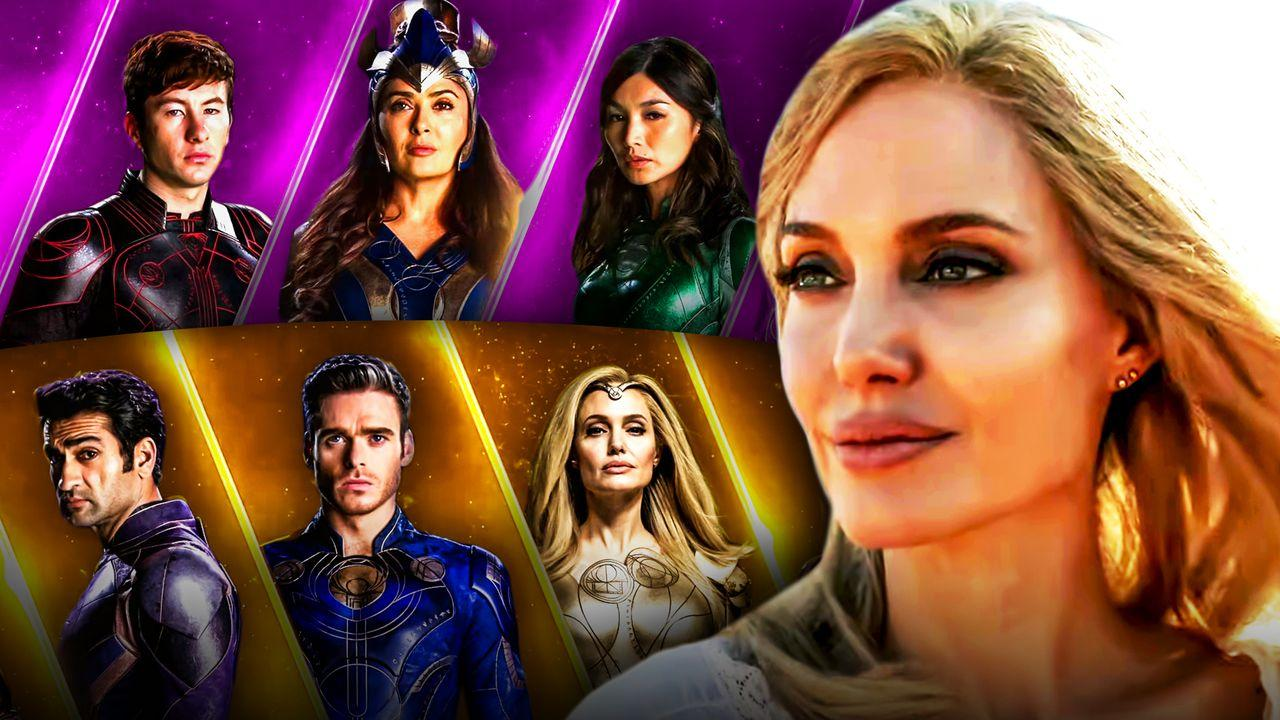 Eternals, Marvel, MCU, Thena, Angelina Jolie