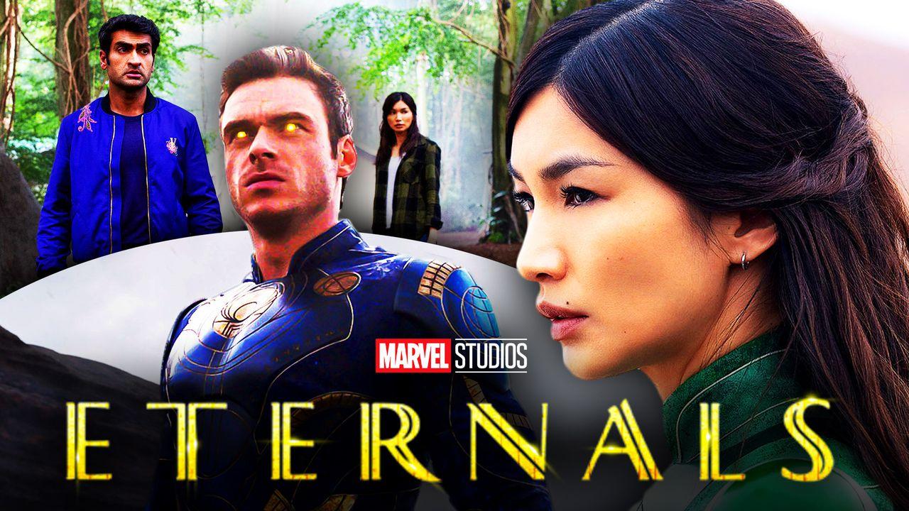 Eternals, Gemma Chan, Richard Madden Superheroes