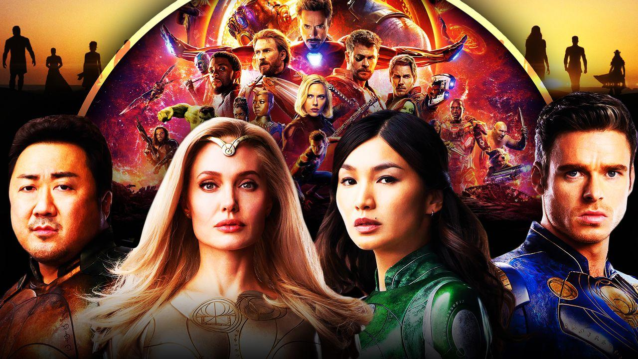 Eternals Marvel Avengers: Infinity War