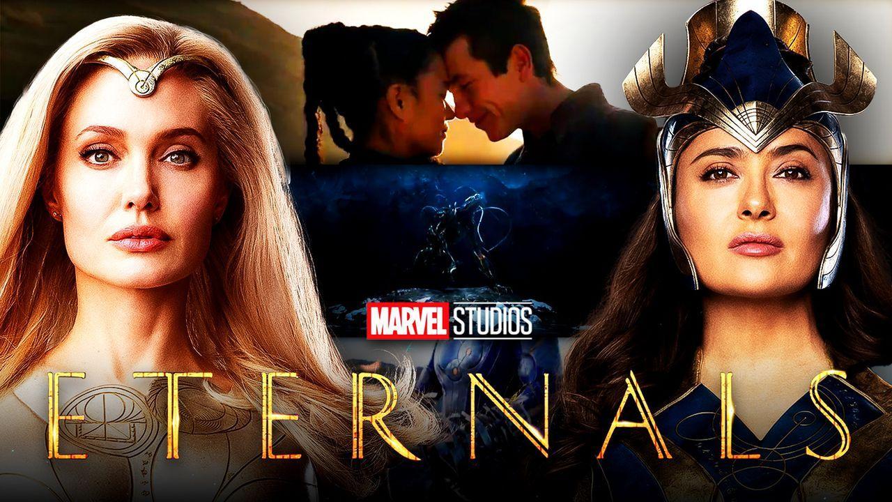 Eternals, Angelina Jolie, Salma Hayek