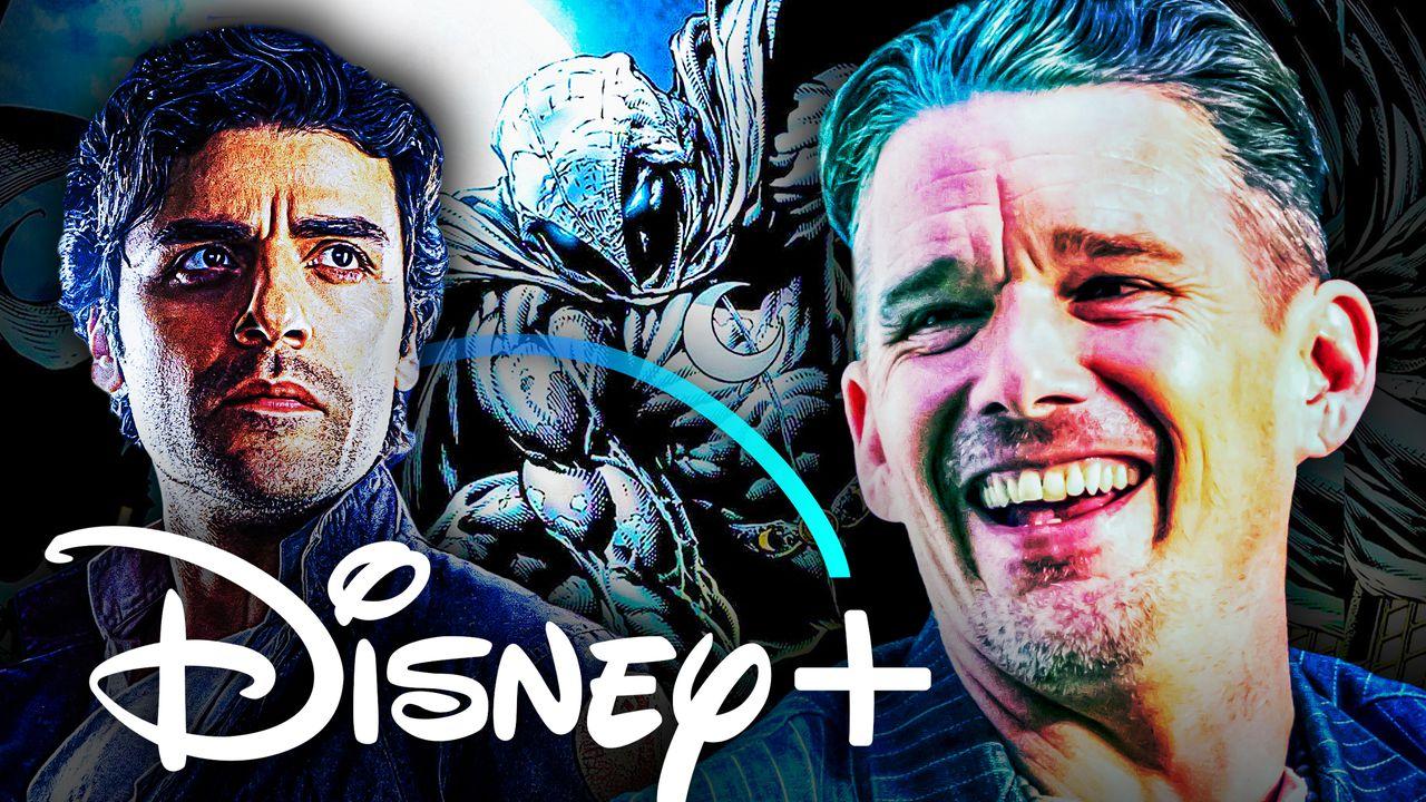 Moon Knight Ethan Hawke Oscar Isaac Disney Plus