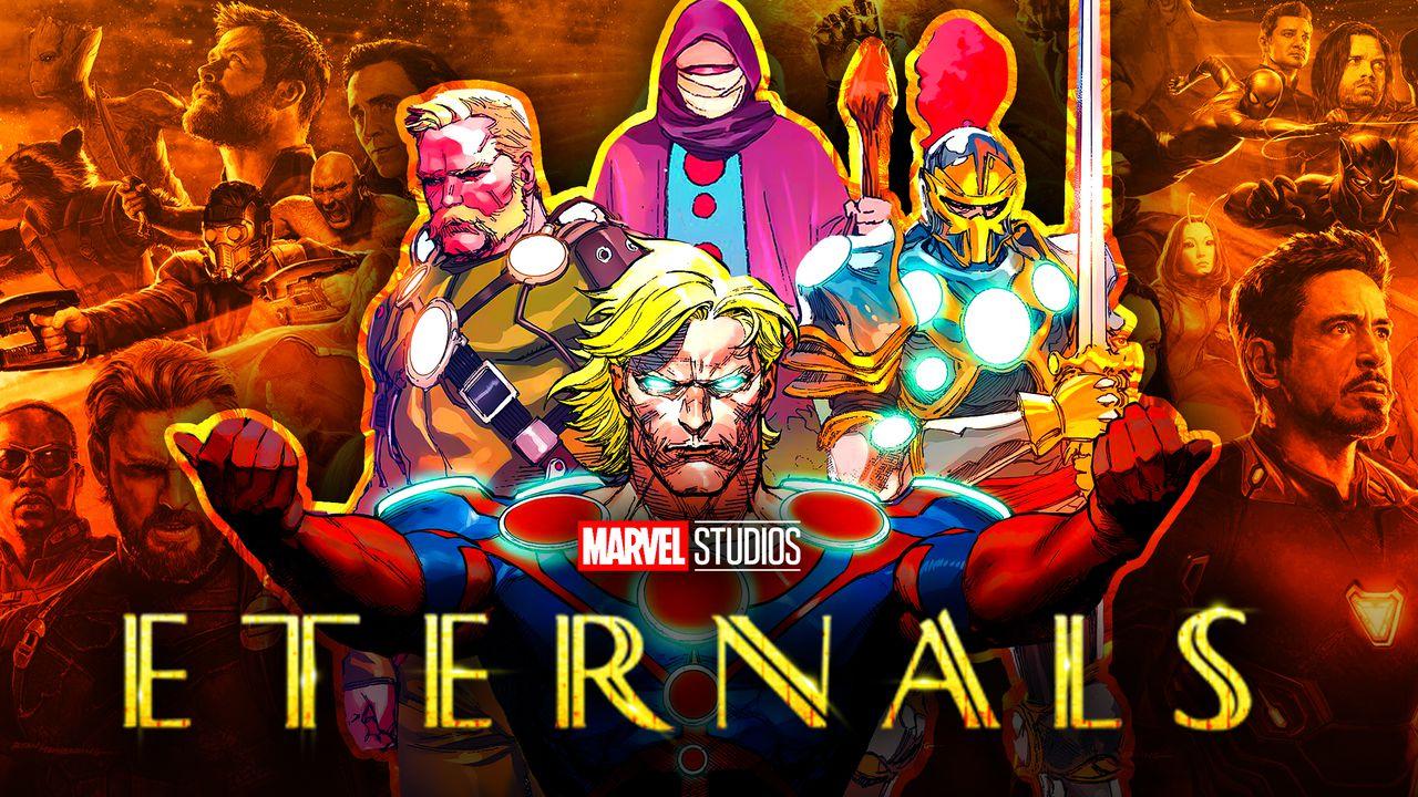 Eternals MCU Superheroes