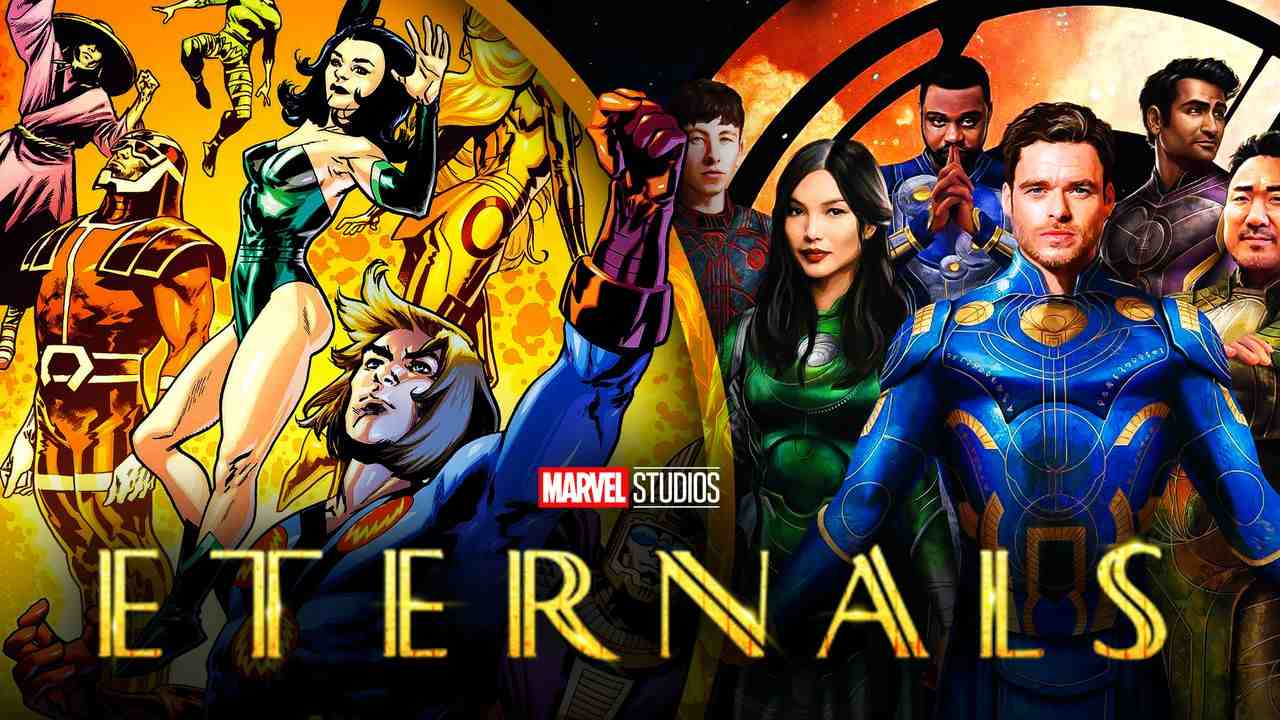 Eternals Movie Character Costumes