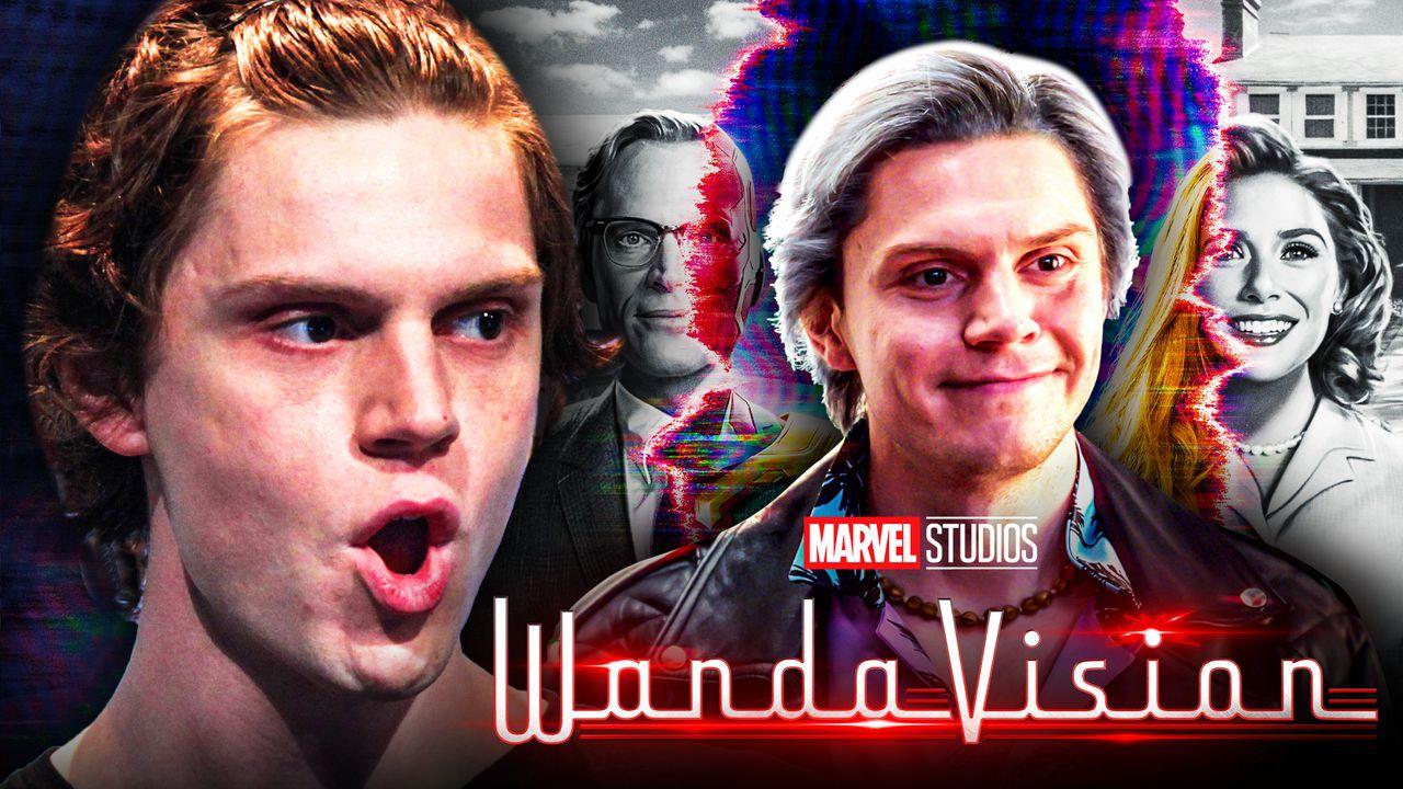 Evan Peters WandaVision MCU