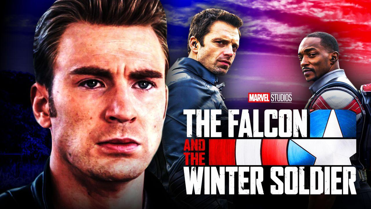 Chris Evans Falcon and Winter Soldier Captain America