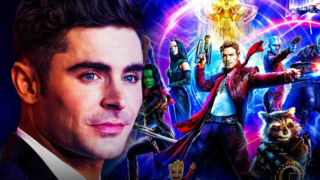 Zac Effron and Guardians of the Galaxy Poster