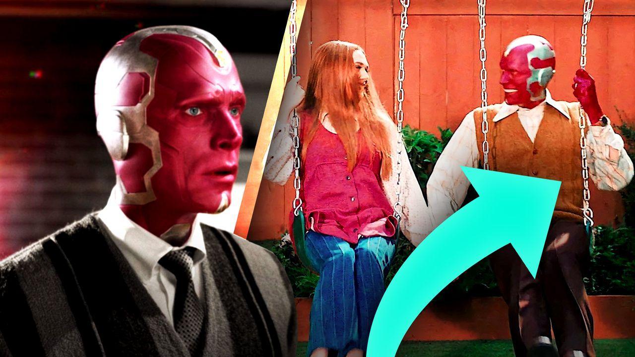 Vision, Wanda, arrow