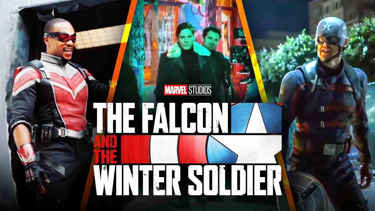 Falcon and Winter Soldier Logo Scenes