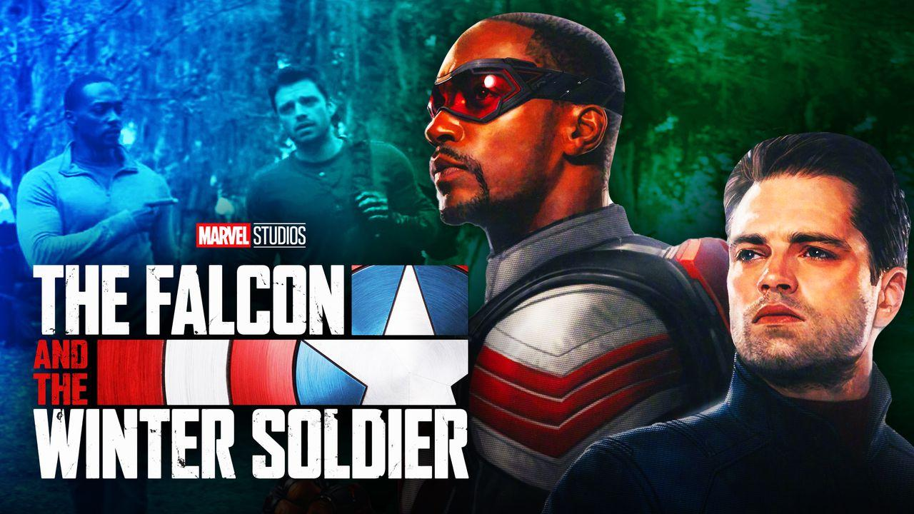 Falcon and Winter Soldier Show Logo