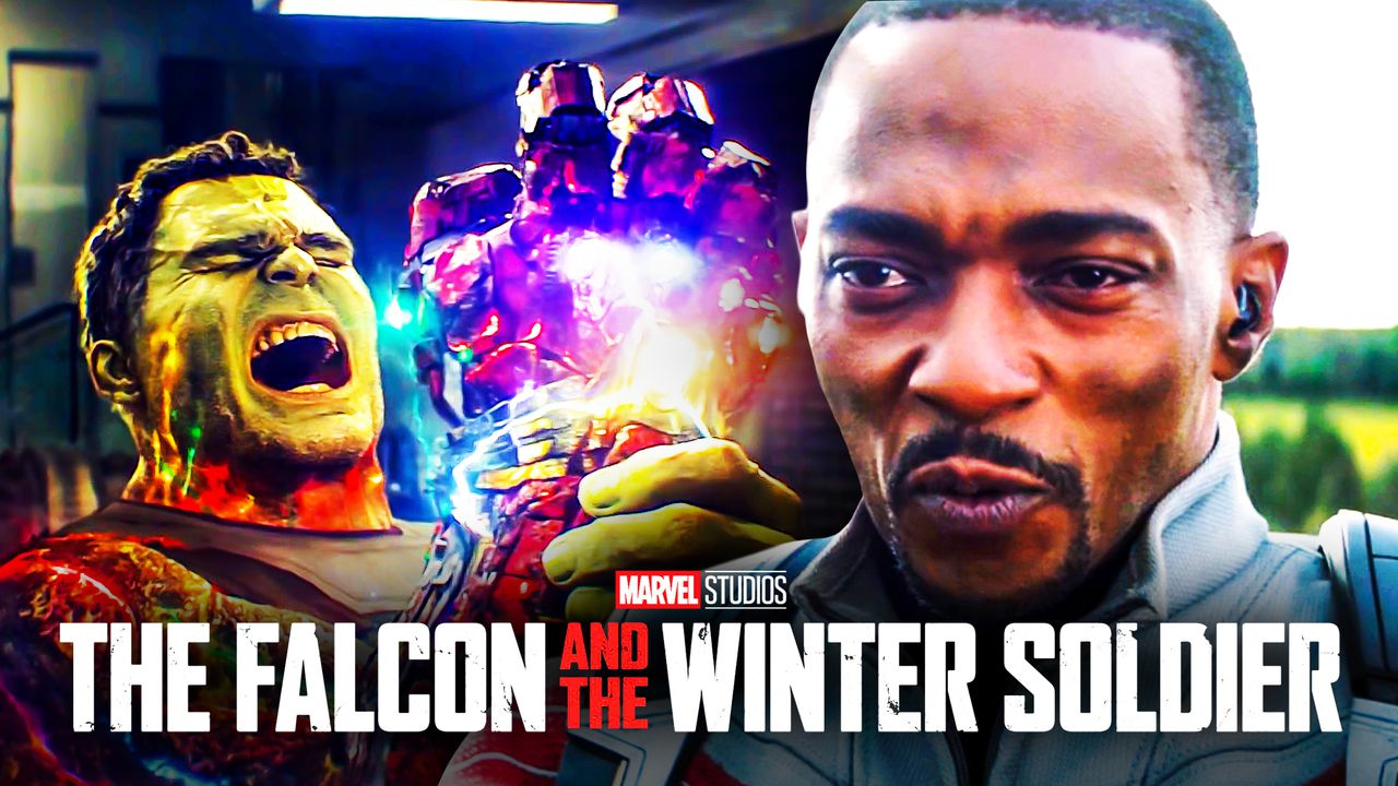 Hulk Sam Wilson Falcon and Winter Soldier