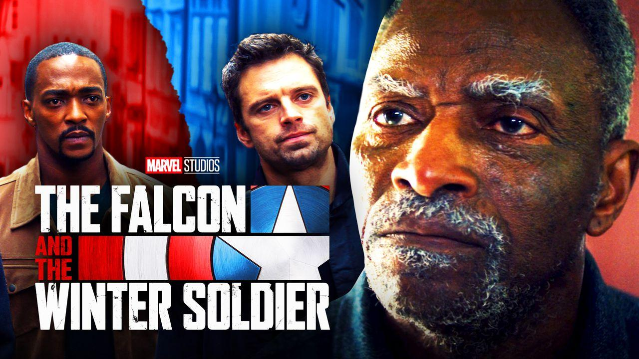 Isaiah Bradley Falcon and Winter Soldier