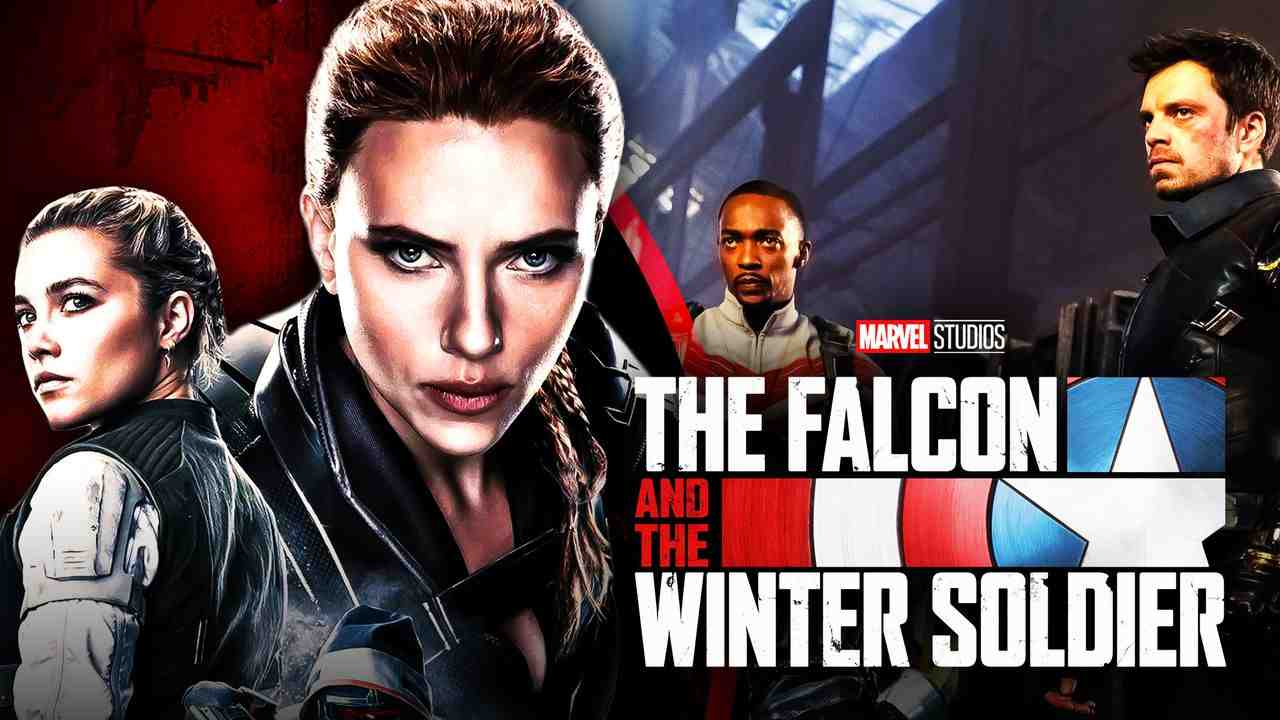 Julia Louis Dreyfus Marvel Falcon and Winter Soldier Black Widow