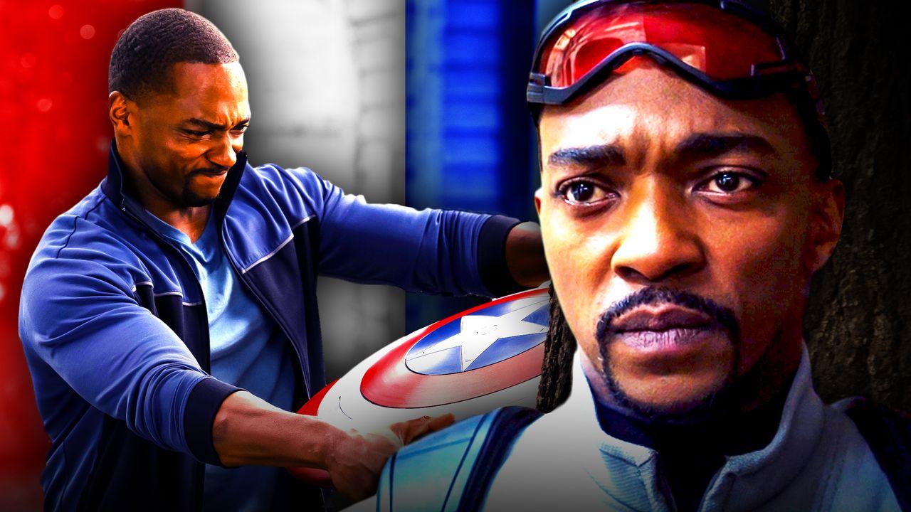 Sam Wilson Falcon Captain America shield