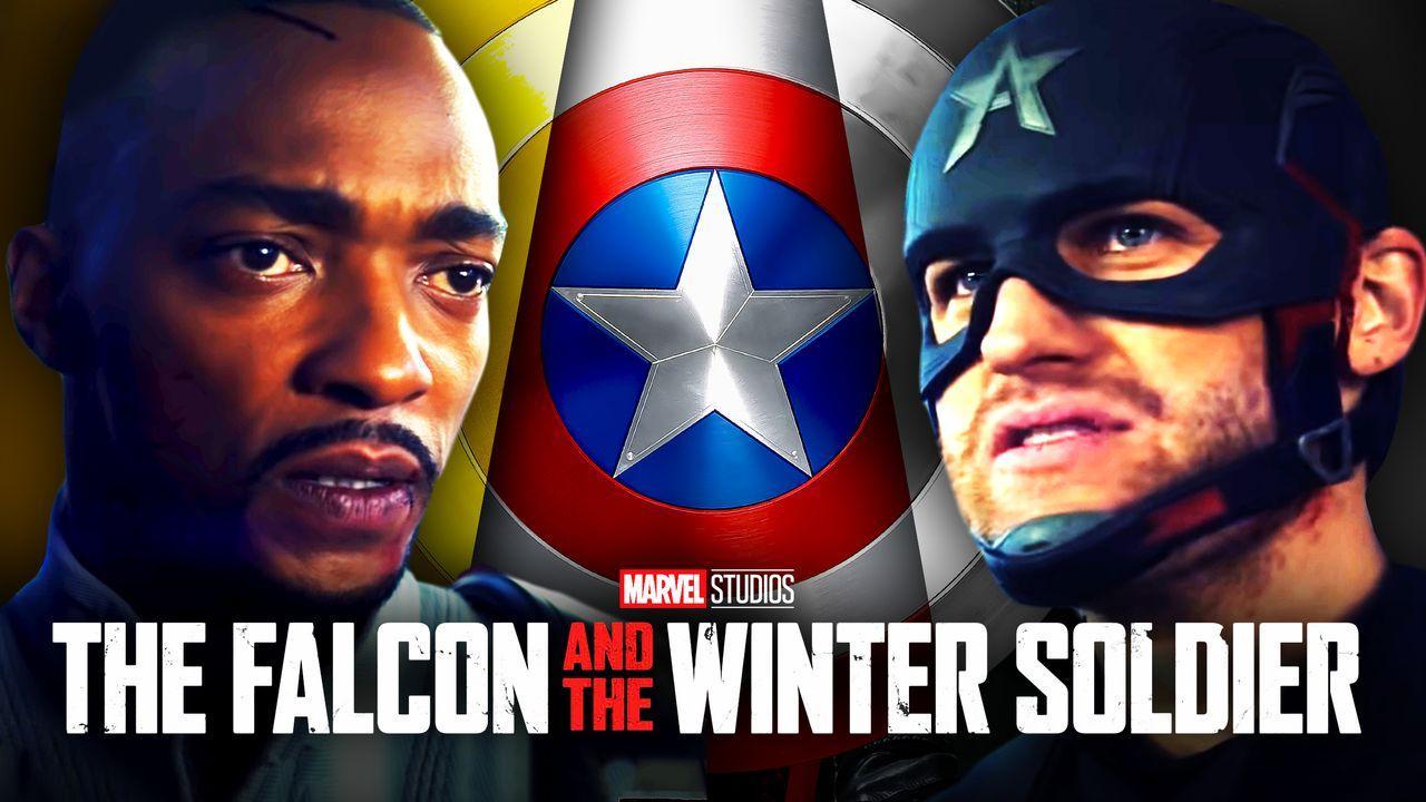 Sam Wilson, Captain America Shield, John Walker
