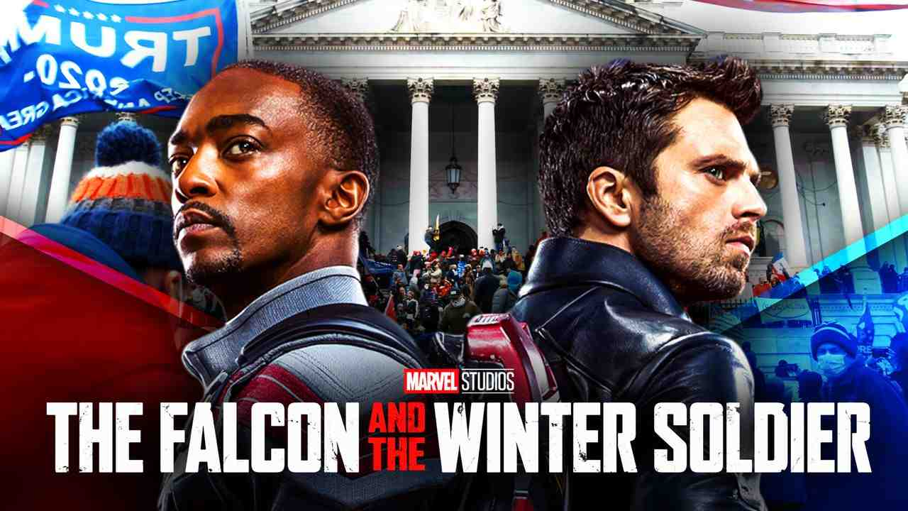 Falcon and Winter Soldier Capitol Riots