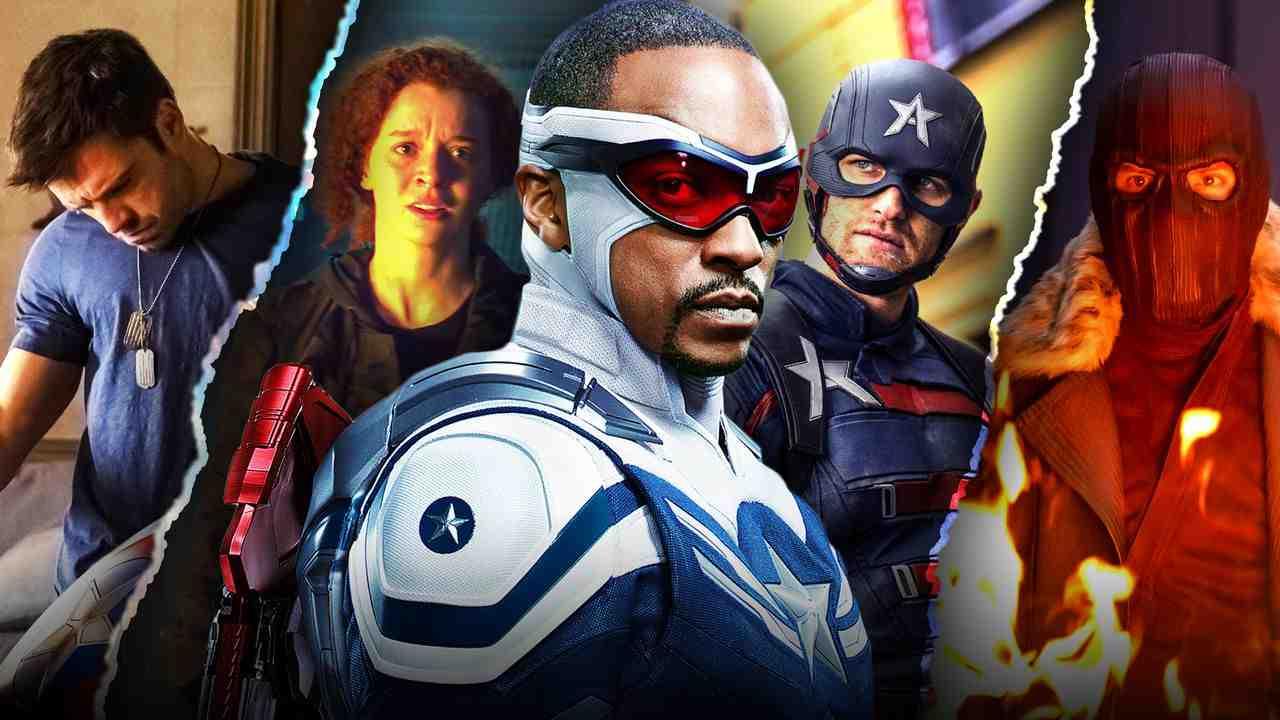 Falcon and Winter Soldier Captain America Sam Wilson