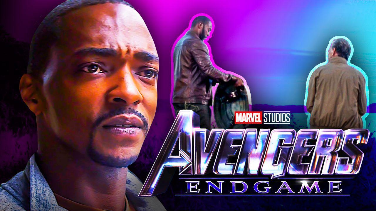 Falcon Avengers Endgame logo