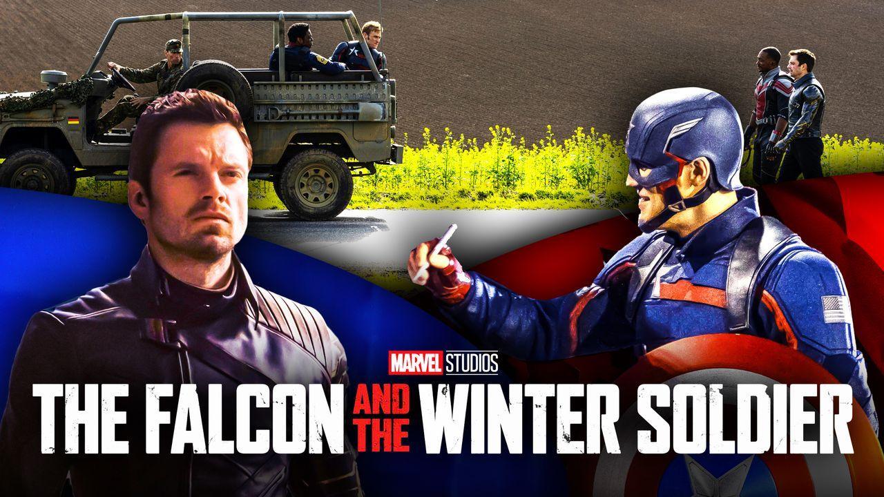 Bucky and US Agent Captain America John Walker