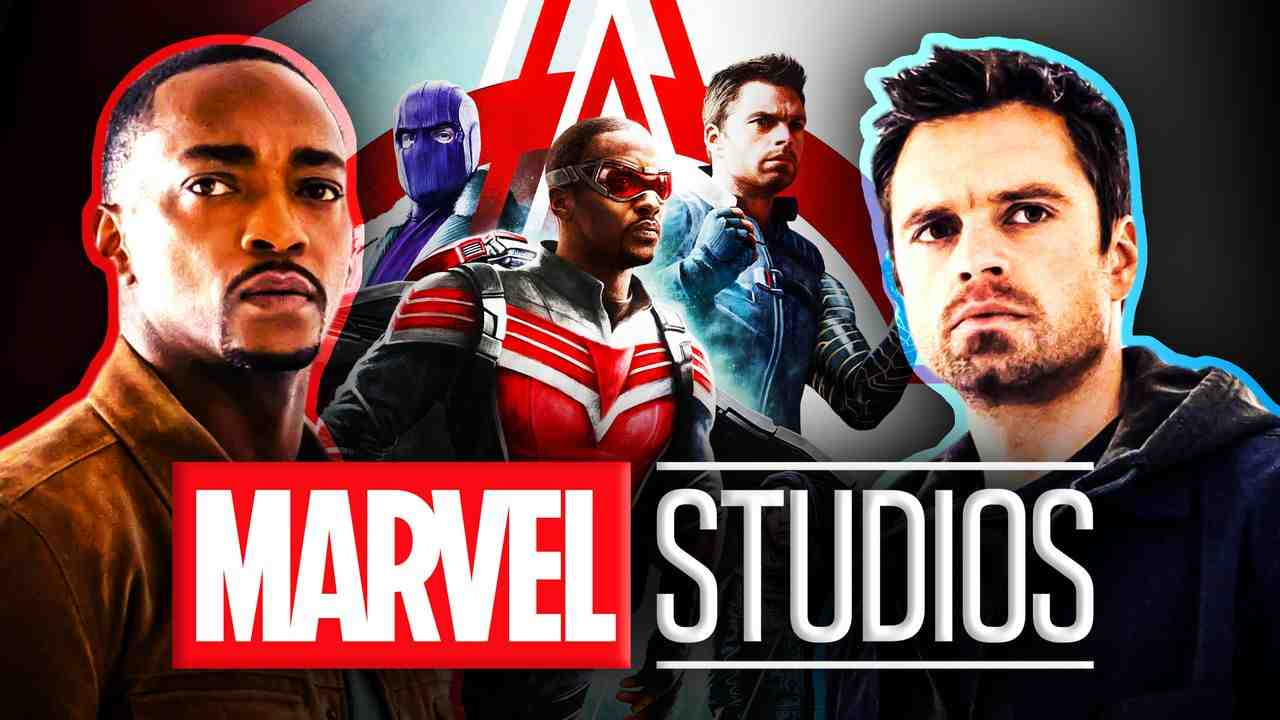 Anthony Mackie Sebastian Stan Falcon and Winter Soldier