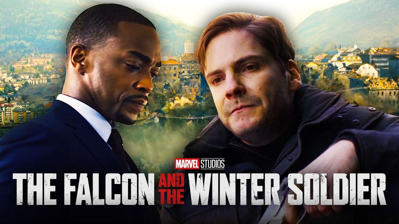 Falcon, Zemo, The Falcon in the Winter Soldier