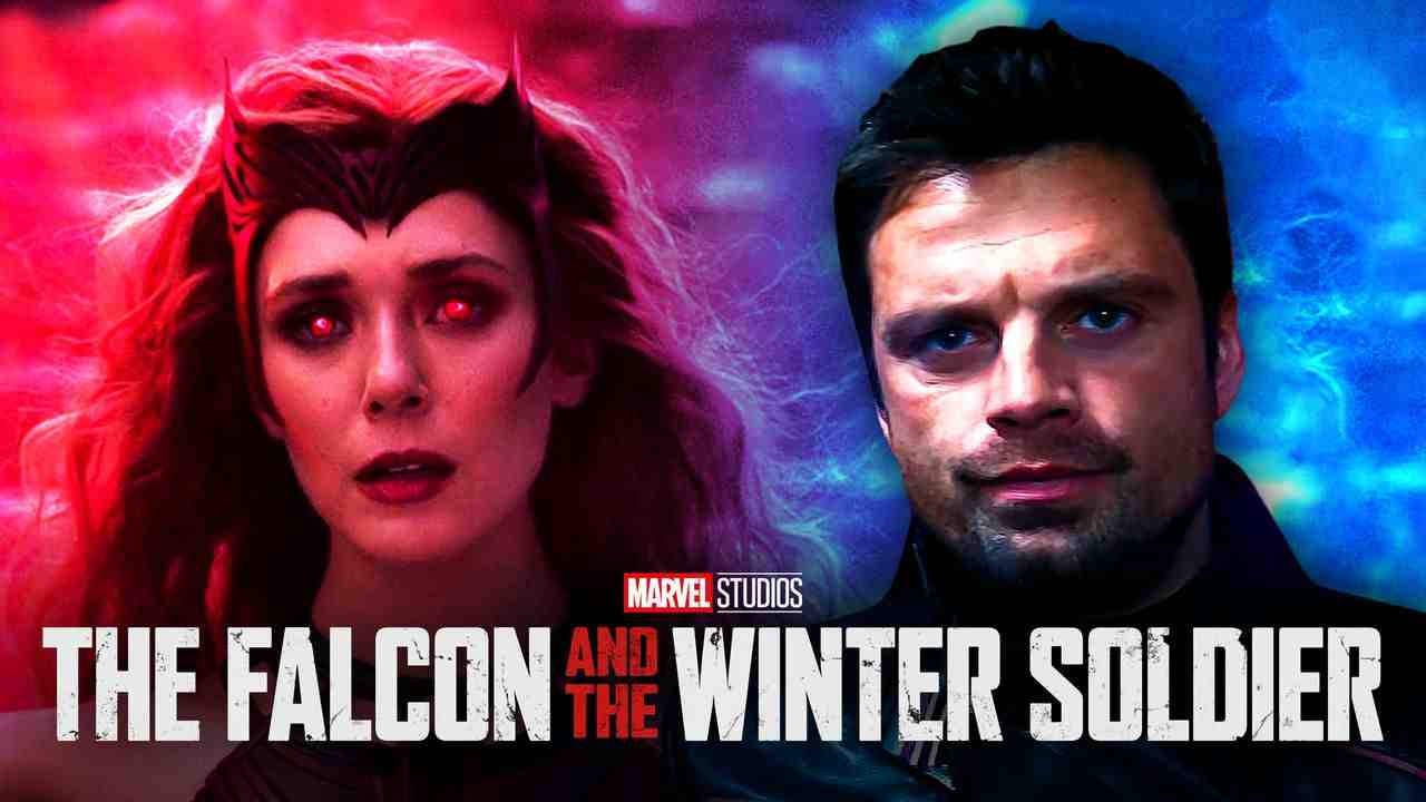 The Falcon and the Winter Soldier, WandaVision, Bucky Barnes, Scarlet Witch