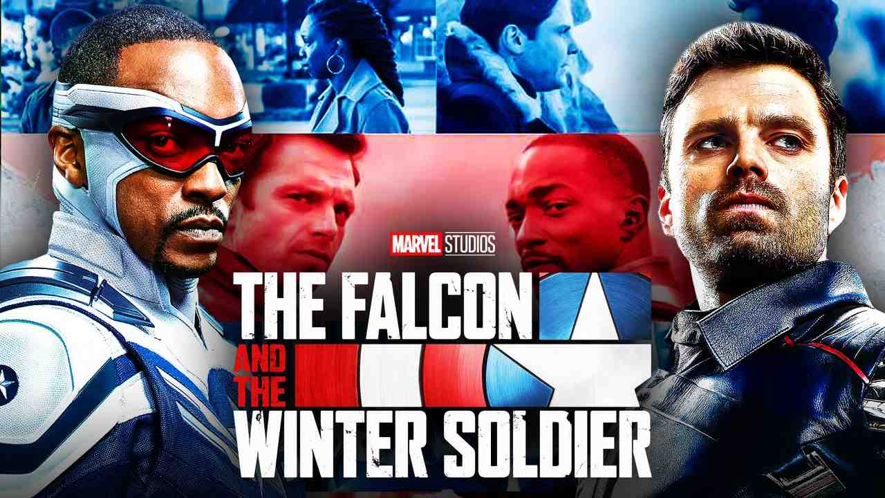 Falcon and Winter Soldier Captain America Bucky Background