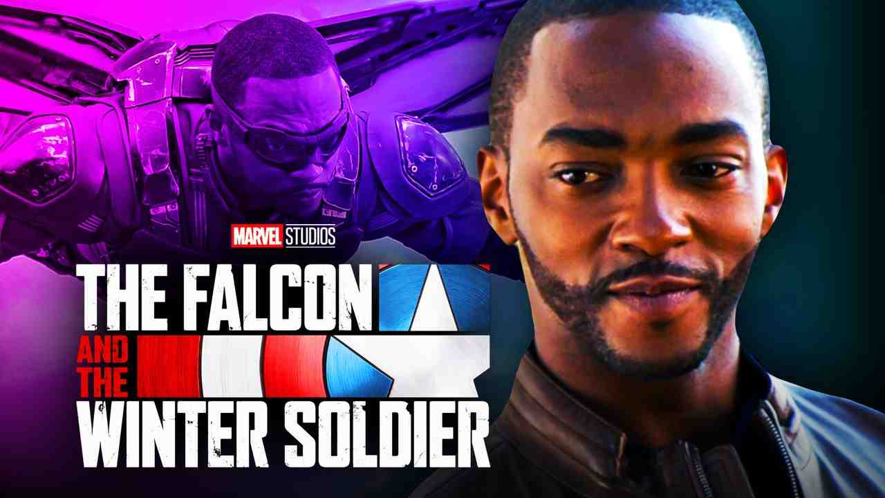 Falcon and Winter Soldier Logo, Anthony Mackie, Falcon