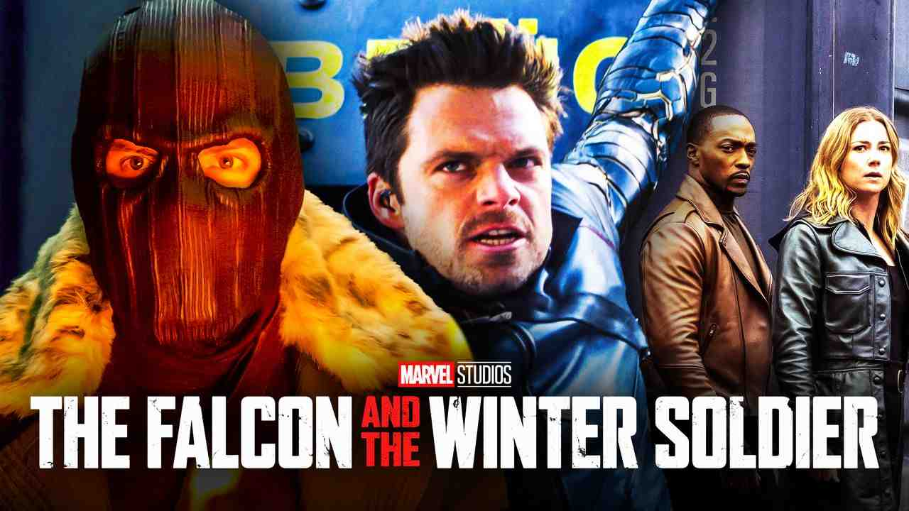 Falcon and Winter Soldier Zemo Bucky